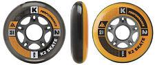 K2 Inliner Rollen 84mm / 80mm Hi-LO 2x4 Pack / ILQ7 Alu Spacer Neu UVP 64.- €