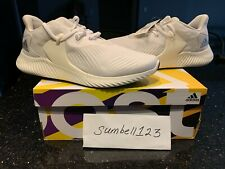 NEW Adidas Alphabounce RC 2 BB7569 White Black Running Ultraboost Boost Size 11