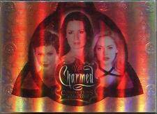 Inkworks Charmed Connections Complete 72 Card Base Set