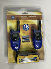 NEW Motorola 2 Talkabout MC220R 16-Mile 22-Channel Two-Way Radio W/ Chargers