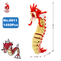 Microblock Spielzeug Pokemon Rot Pocket Monster Mini Bausteine Modell Toy Gift