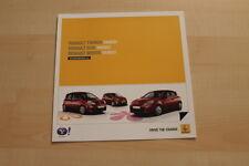 73066) Renault Twingo Clio C Modus - Yahoo - Prospekt 08/2011