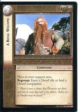 Lord Of The Rings CCG Card RotEL 3.U4 A Royal Welcome