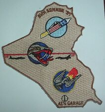 AMERICAN PATCHES-UNITED STATES AIR FORCE USAF OPP SOUTHERN WATCH IRAQ 97 GAGGLE