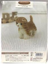 Needle Felting Kit Cat Japan Wool Felt Craft Munchkin Hamanaka Free Shipping
