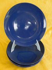 WHIM Martha Stewart Blueberry DINNER PLATE 1 of 4 have more items to set BLUE