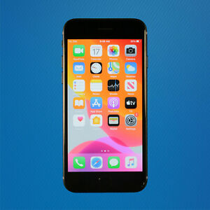 Good - Apple iPhone SE 2nd Gen 2020 64GB - Black (Sprint/T-Mobile) Free Shipping