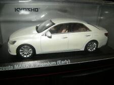 1:43 Kyosho Toyota Mark X Premium (Early) White Pearl Crystal Shine Nr. 03637W3