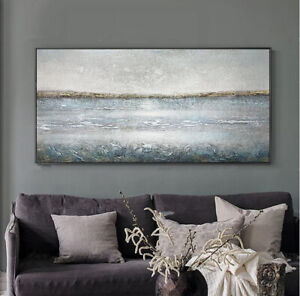 YA1204 Modern Large Hand-painted abstract oil painting Sofa backdrop decor