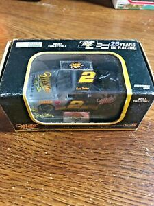 1996 RUSTY WALLACE Black & Silver 25 Years Miller #2 Hard Case Revell 1/64 car