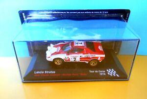 Die cast 1/43 Modellino Auto Lancia Stratos Rally Tour de Corse 1974 J-C.Andruet