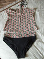Unbranded Lycra Tankini Sets Regular Size Swimwear for Women