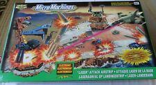 Micro Machines ataque láser militar pista en 2000 por Hasbro