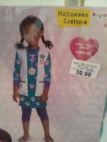 Doc McStuffins Pet Vet Costume Toddler 3T-4T or Child  L(4-6) Disney Dress-Up