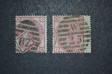 GB 1873/80  3 PENCE PLAQUE 12 X2