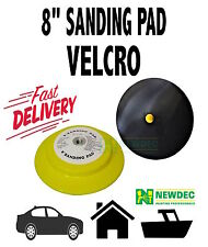 "SANDING BACKUP 200MM 8"" 14MM THREAD PAD FILLER PAINT AUTO FIBREGLASS DIY"