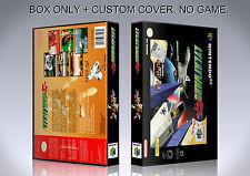 LYLATWARS. PAL VERSION 2. Box/Case. Nintendo 64. BOX + COVER. (NO GAME).