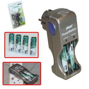 Akku Batterieladegerät Batterie Ladegerät Akkus NiMH Batterien für 1-8x AA/AAA