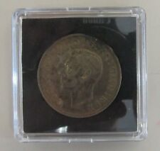 1944 George V Half Crown S-89 A-unc Mint Condition Toning Silver (11981-world-Y)