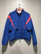 Vintage Asics Gore-Tex Full Zip Active Jacket Men's Size M / L Blue Pink