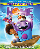 Home (Blu-ray/DVD, 2015, 2-Disc Set, Includes Digital Copy Party Edition) New
