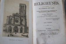 ANTIQUITES RELIGIEUSES DU DIOCESE DE SOISSONS ET LAON 2/2-LEQUEUX-PLANCHES 1859