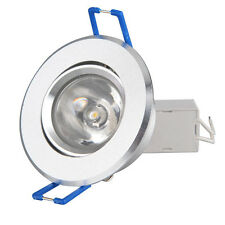 3W LED High Power Recessed Ceiling Down Cabinet Light lamp bulb 85-265V + Driver