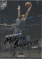 Z5) 2018-19 Panini Chronicles Luminance Marvin Bagley III RC Sacramento Kings