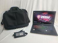 ⭐MSI GP72 7rdx Gaming Laptop GTX1050,16gb RAM 128gb SS-1tb HDD i7-7700HQ 2.8GHz