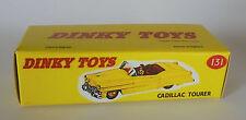 Repro Box Dinky Nr.131 Cadillac Tourer gelb oder hellbraun
