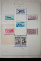 Great Britain Isle of Man 1960's Stamp Collection