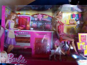 BARBIE NEW Boxed KITCHEN Gift Set
