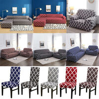 Stretch Chair Loveseat Couch Covers 1 2 3 4 Seater Sofa Cover L Shape Slipcover