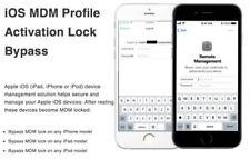 APPLE MDM BYPASS IPHONE / IPAD / IPOD 100% all iOS Till IOS12.x.x [Fast Service]