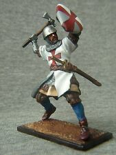 SALE!!! Elite tin soldiers St. Petersburg: Knight Templar with axe. 54 mm