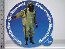 Aufkleber Sticker Feuerwehr Hamburg - Umwelt - Technik (5259)