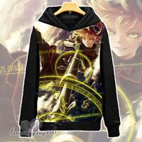Anime Saga of Tanya the Evil Long Sleeve Hooded Sweatshirt Pullover Coat #Dl65