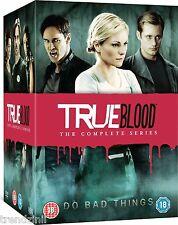 True Blood - Season 1-7 [DVD] True Blood Complete Seasons 1 2 3 4 5 6 7 | New