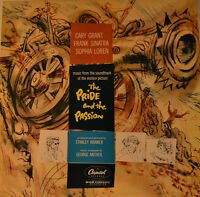 """East - Soundtrack - The Pride And The Passion - George Antheil 12 """" LP (L836)"""