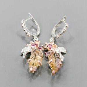 Carving jewelry AAA Ametrine Earrings Silver 925 Sterling   /E54605
