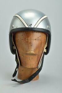 Motor Sports Drivers' Racing Drivers' 1950 Medium Size Crash Helmet. Ref DTP