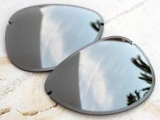 Authentic Oakley Tailpin Chrome Iridium Sunglass Replacement Mirror Lenses 4086
