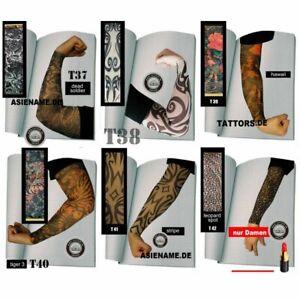 Skin Sleev Fahrradarm Armlinge Ärmel Tattooärmel winddicht atmungsaktiv T37-47