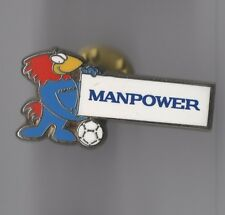 Pin's Football / Footix - Manpower (Coupe Du Monde 98 - Signé Arthus Bertrand)