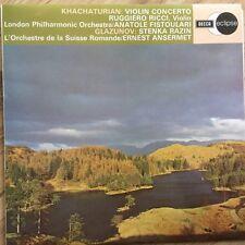 ECS 641 Khachaturian Violin Concerto, etc. / Ruggiero Ricci / Ansermet / OSR