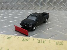 1/64 CUSTOM ERTL farm toy dodge 2500 cummins snow plow blade pickup sander truck