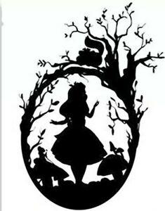 New Disney Alice In Wonderland Cutting Die