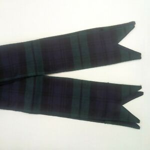 Bagpipe Drone Ribbons (BLACK WATCH)
