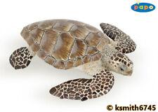 Papo LOGGERHEAD TURTLE solid plastic toy wild zoo sea marine animal * NEW *💥