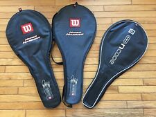 Wilson racquet cover (one racquet) - different models -  00004000 very good condition